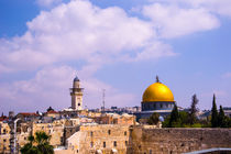 The dome of the rock Jerusalem by slavamalai