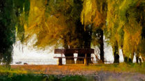 verweilen, Ruhe finden  ... von Wolfgang Pfensig