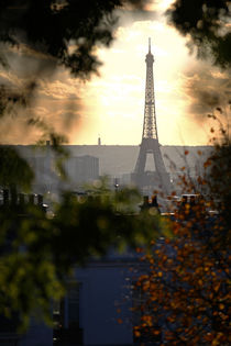 Eiffel Tower, Paris. by Mikhail Shapaev