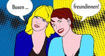 Busenfreundinnen-roy-lichtenstein-mit-sprechblasen