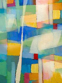 Aqua abstrakt von Lutz Baar