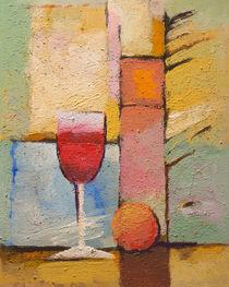 Glas Wein von Lutz Baar