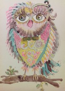 Isadory Owl by linpacific