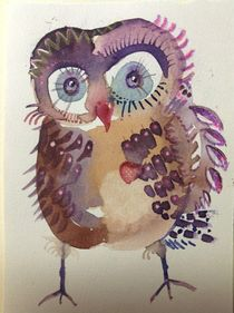 Sebastian Owl by linpacific