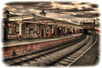 Vintage Keighley Station by Colin Metcalf