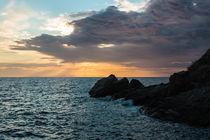 Syros, Kini sunset by Ilias Katsouras