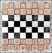 Poor man's chess by Leopold Brix