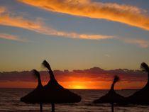 Sonnenuntergang am Meer II von Ulrike Kröll