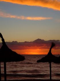 Sonnenuntergang am Meer IV  von Ulrike Kröll