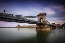 Chain Bridge (Széchenyi lánchíd) in Budapest by Zoltan Duray