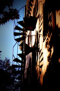 Spiral Staircase by O.L.Sanders Photography