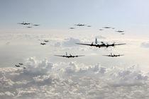 B-17 Bomb Group by James Biggadike