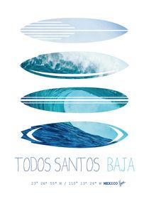 My Surfspots poster-6-Todos-Santos-Baja von chungkong