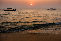 Otres Beach, Sihanoukville I by Tom Hanslien