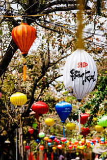Chinese Lanterns, Hoi An. by Tom Hanslien