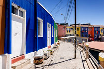 Colourful Houses in Valparaiso. by Tom Hanslien