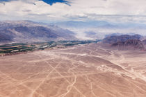 Nazca Lines Aerial View. by Tom Hanslien
