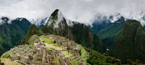 Machu Picchu Panorama III by Tom Hanslien