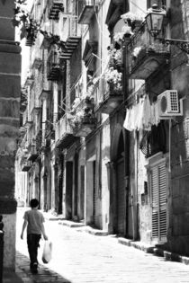 Street scene, Sicily by Christian Hansen