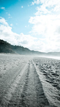 Lines in the sand, Asturias by Christian Hansen