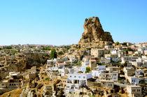 Ortahisar cave city in Capapdocia, Turkey by Tanja Krstevska