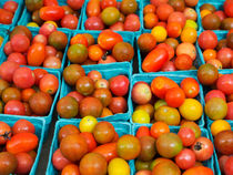 Heirloom Cherry Tomatoes by Louise Heusinkveld