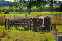 Rusty Old Tractor by Louise Heusinkveld
