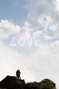 Love written in the sky. by morten larsen