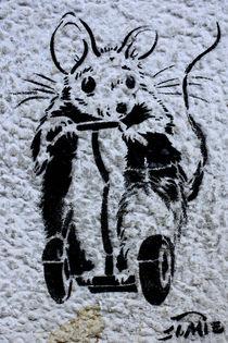 Berlin Street Art VIII by Simone Wilczek