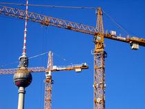 Berliner Fernsehturm von Simone Wilczek