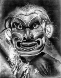 Pgwis Qagyuhl Indian Mask by Vincent Monozlay