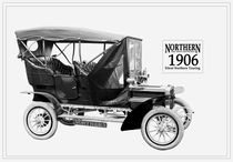 Northern Silent Touring Car #2. 1906. by chris kusik