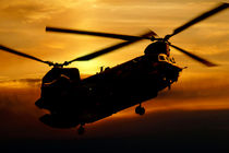 RAF Chinook von James Biggadike