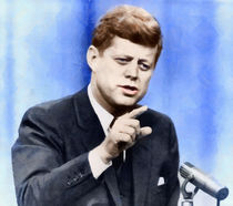 President John Kennedy by Vincent Monozlay