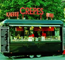 Crêpes and Coffee to go. by Michael Beilicke
