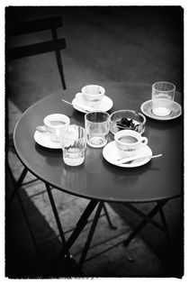 Coffee on the Table by John Rizzuto
