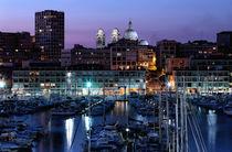 Night Glow in the Port by John Rizzuto