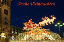 Weihnachts-Grußkarte Hamburg von Beate Zoellner