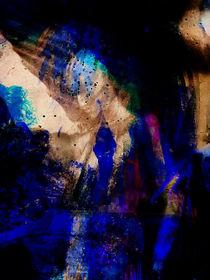 Blue woman von Gabi Hampe