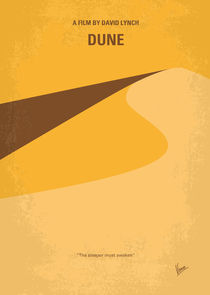 No251 My DUNE minimal movie poster by chungkong