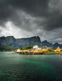 Fishermen Village in the Arctic Circle by Maciej Markiewicz