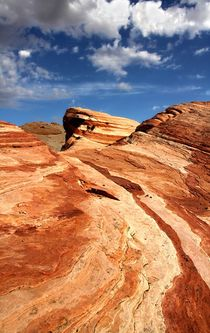 Wave im Valley of Fire by Bruno Schmidiger