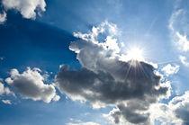 Wolken Sonne Wetterwechsel von caladoart
