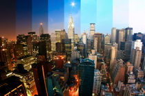 New York City - Fine Art Print von temponaut