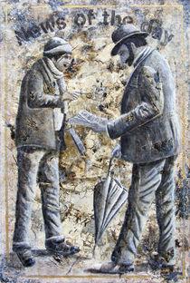 Der Zeitungsverkäufer by Roland H. Palm
