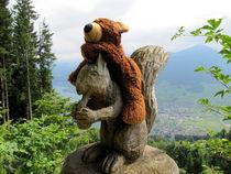 Eichhörnchenreiter von Olga Sander