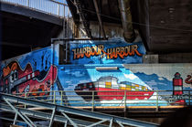 Hafen Hamburg Graffiti by Kay Elvert