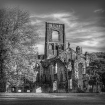 Kirkstall Abbey Mono von Colin Metcalf