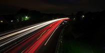 Lichtzieher auf der Autobahn von Dennis Stracke