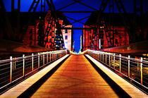 Kibbelsteg Brücke Speicherstadt Hamburg von Dennis Stracke